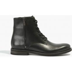 Czarne kozaki Luca. Czarne buty zimowe męskie marki House. Za 279,99 zł.