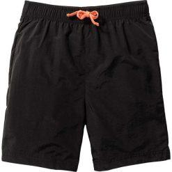 Odzież chłopięca: Szorty plażowe bonprix czarny