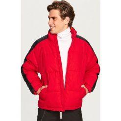 Pikowana kurtka ze stójką - Czerwony. Czerwone kurtki męskie pikowane marki Reserved, l. Za 169,99 zł.