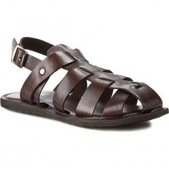 Sandały GINO ROSSI - MN2441-TWO-BG00-3700-0 92. Brązowe sandały męskie skórzane Gino Rossi. W wyprzedaży za 139,90 zł.
