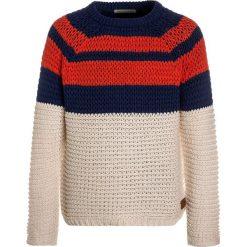 Scotch Shrunk STRIPED CREWNECK Sweter blue. Niebieskie swetry chłopięce marki Scotch Shrunk, z bawełny. Za 299,00 zł.