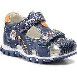 Sandały chłopięce: Sandały ACTION BOY – CM170706-29 Niebieski
