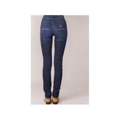 Jeansy slim fit Armani jeans  LAMIZ. Niebieskie boyfriendy damskie Armani Jeans. Za 647,20 zł.