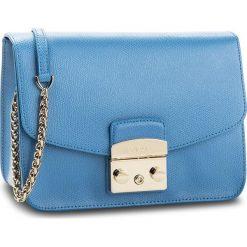 Torebka FURLA - Metropolis 941909 B BNF8 ARE Celeste c. Niebieskie torebki klasyczne damskie Furla. W wyprzedaży za 1069,00 zł.
