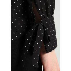 Koszule wiązane damskie: Dorothy Perkins NICOLE TIE CUFF Koszula black