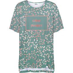 Colour Pleasure Koszulka damska CP-033 252  zielona r. uniwersalny. Zielone bluzki damskie marki Colour pleasure, uniwersalny. Za 76,57 zł.