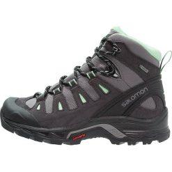 Salomon QUEST PRIME GTX  Buty trekkingowe detroit/asphalt/lucite green. Czarne buty trekkingowe damskie Salomon, z gumy. W wyprzedaży za 559,20 zł.