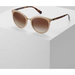 Okulary przeciwsłoneczne damskie aviatory: Emporio Armani Okulary przeciwsłoneczne brown
