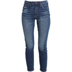 Madewell HIGH RISE IN Jeansy Slim Fit milton. Niebieskie jeansy damskie relaxed fit Madewell. Za 569,00 zł.