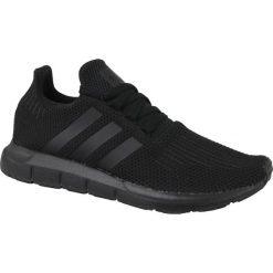 Buty sportowe męskie: Adidas Buty męskie Swift Run czarne r. 40 2/3 (AQ0863)