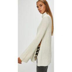Guess Jeans - Sweter. Szare golfy damskie Guess Jeans, l, z dzianiny. Za 459,90 zł.