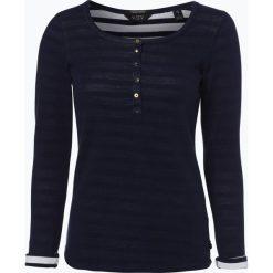 Bluzy rozpinane damskie: Scotch & Soda - Damska bluza nierozpinana, niebieski