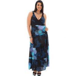 Odzież damska: Sukienka w kolorze czarno-niebieskim