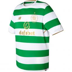 Koszulka Celtic F.C.Home Kit. Szare koszulki do piłki nożnej męskie New Balance, na jesień, m, z materiału. W wyprzedaży za 199,99 zł.