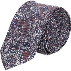 Krawat paisley bordo 100. Szare krawaty męskie Recman, paisley. Za 49,00 zł.