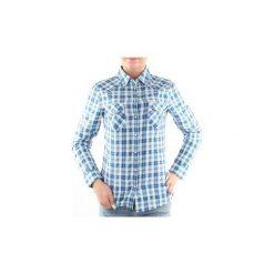 Koszule Lee  Koszula  Slim Western Intense 45PHHKK. Niebieskie koszule damskie marki Lee, m. Za 139,00 zł.