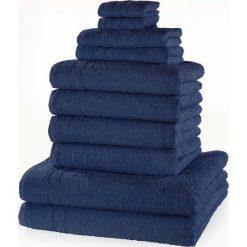 """Bielizna męska: Komplet ręczników """"New Uni""""(10 części) bonprix granatowy"""