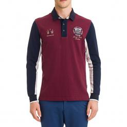 Koszulka polo w kolorze bordowym ze wzorem. Czerwone koszulki polo GALVANNI, m. W wyprzedaży za 199,95 zł.
