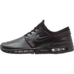 Nike SB STEFAN JANOSKI MAX Tenisówki i Trampki black/metallic pewter. Czarne trampki męskie Nike SB, z materiału. W wyprzedaży za 455,20 zł.