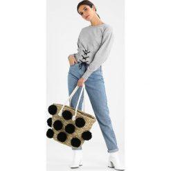 Glamorous Torba na zakupy black. Różowe shopper bag damskie marki Glamorous, z nadrukiem, z asymetrycznym kołnierzem, asymetryczne. Za 199,00 zł.
