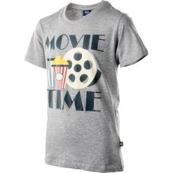 T-shirty chłopięce: Koszulka MOVIE JR LIGHT GREY 140