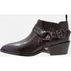Botki damskie lity: Gardenia EMELIE Ankle boot black