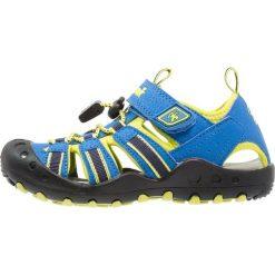 Kamik CRAB Sandały trekkingowe blue. Niebieskie sandały chłopięce marki Kamik, z materiału. Za 189,00 zł.
