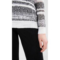 Swetry klasyczne damskie: Sisley Sweter black/white