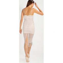 Frock and Frill AZURE Sukienka etui nude. Brązowe sukienki marki Frock and Frill, z materiału. W wyprzedaży za 389,50 zł.