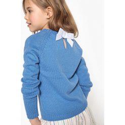 Swetry dziewczęce: Sweterek z wiązaniem na plecach 3-12 lat