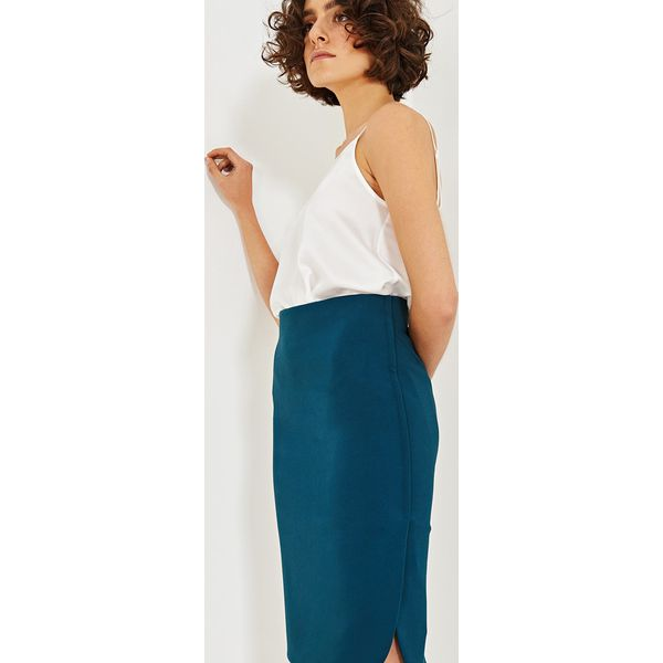59e040960f Simple - Spódnica - Szare spódniczki damskie Simple