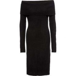 Sukienka dzianinowa z odkrytymi ramionami bonprix czarny. Niebieskie sukienki dzianinowe marki Reserved, z odkrytymi ramionami. Za 79,99 zł.