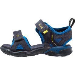 Ecco BIOM RAFT Sandały trekkingowe night sky/bermuda blue/night sky. Niebieskie buty trekkingowe chłopięce marki CMP, z materiału. Za 349,00 zł.