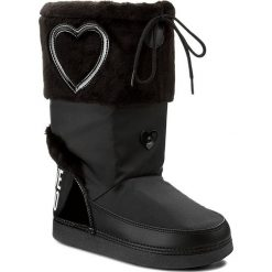 Buty zimowe damskie: Śniegowce LOVE MOSCHINO - JA24232G04JK200A Nero