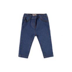 ESPRIT Boys Spodnie jeans blue denim. Niebieskie spodnie chłopięce marki Esprit, z bawełny. Za 69,00 zł.