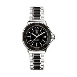 ZEGAREK TAG HEUER Formula 1 WAH1210.BA0859. Czarne zegarki damskie marki KALENJI, ze stali. Za 5910,00 zł.
