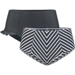 Figi bikini shape (2 pary) bonprix czarny + czarno-biały. Białe bikini marki Reserved, m. Za 89,98 zł.
