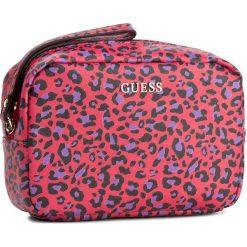 Kosmetyczka GUESS - Aloha Accessories PWALOH P7472 FUC. Czerwone kosmetyczki męskie marki Guess, z aplikacjami. W wyprzedaży za 139,00 zł.