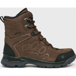 Jack Wolfskin - Buty Thunder Bay Texapore High M. Szare buty trekkingowe męskie Jack Wolfskin, z materiału, outdoorowe. W wyprzedaży za 499,90 zł.