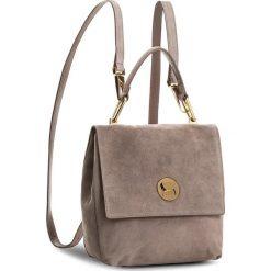 Plecaki damskie: Plecak COCCINELLE – BD 1 Liya Suede E1 BD1 54 10 01 Pivoine/Pivoine 208