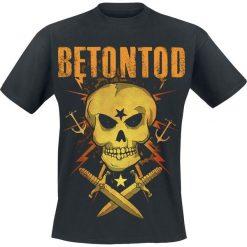 Betontod Strasse T-Shirt czarny. Czarne t-shirty męskie marki Betontod, m. Za 74,90 zł.