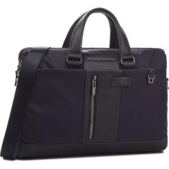 Torba na laptopa PIQUADRO - CA3339BR BLU. Niebieskie torby na laptopa Piquadro, z materiału. Za 1169,00 zł.