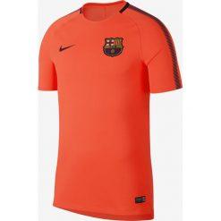Nike Koszulka męska FCB M BRT SQD Top SS pomarańczowa r. M (854253 813). Brązowe koszulki sportowe męskie Nike, m. Za 149,00 zł.