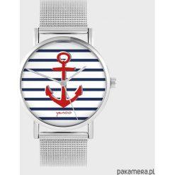 Zegarki damskie: Zegarek - Kotwica - metalowy