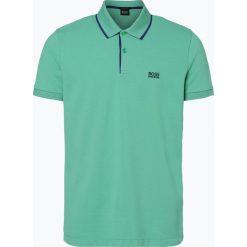 Koszulki polo: BOSS Athleisure – Męska koszulka polo – Peos 2, zielony