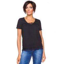 """T-shirty damskie: Koszulka """"Nadine"""" w kolorze czarnym"""