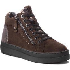 Sneakersy TAMARIS - 1-25218-21 Dk Olive Comb 775. Brązowe sneakersy damskie Tamaris, z materiału. W wyprzedaży za 259,00 zł.