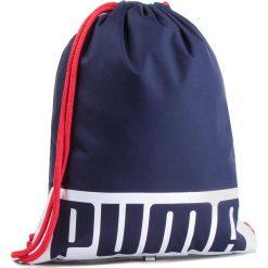 Plecak PUMA - Deck Gym Sack 074961 Peacoat. Niebieskie plecaki męskie Puma, z materiału. Za 59,00 zł.