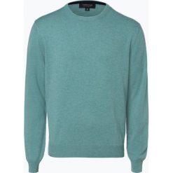 Andrew James - Sweter męski z czystego kaszmiru, zielony. Zielone swetry klasyczne męskie Andrew James, l, z dzianiny. Za 549,95 zł.