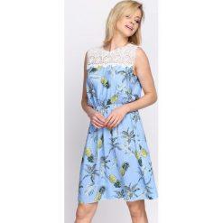 Sukienki: Jasnoniebieska Sukienka Gust of Wind